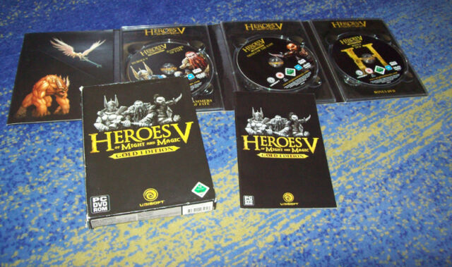Heroes of Might & Magic V - GOLD Edition Erstausgabe PC