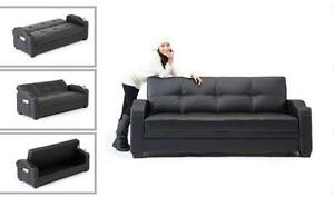 Couch with bed !! LOWEST PRICE WITH HIGHEST QUALITY sofa beds(AD 414)