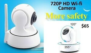720P HD Wifi Motored Camera