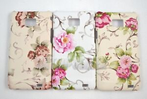 Chic-Vintage-Rose-Flower-Pattern-Hard-Leather-Case-Cover-Samsung-Galaxy-S2-i9100