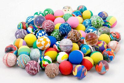 100 x Flummis Flummi Springball 25 mm Hüpfball Bouncing Ball Mitgebsel Tombola
