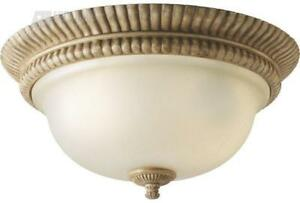Brand    New Villa Cortona one-light flush    mount