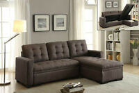 MARLENE SOFA SECTIONAL WITH CHAISE AND STORAGE