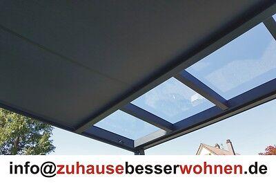 Markise für Terrassendach Terrassenüberdachung  Unterdachbeschattung 3,5x3,5 m