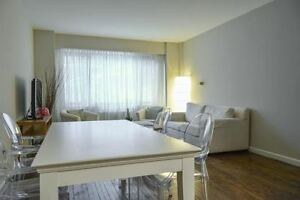 Furnished & renovated 4 1.2 in THE HEART OF DOWNTOWN