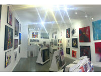 Art Gallery Marketing Assistant