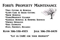 TREE CUTTING/HAULING, GARBAGE, DUMP AND OVER SIZED LOAD DELIVERY