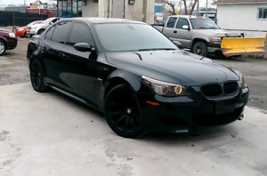 2008 BMW M5 V10 low kilometers, clean and well maintained