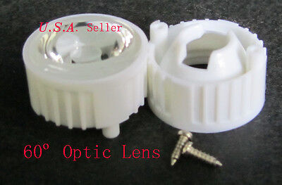 60 Optic Wide Led Lens-- 5 Pcs