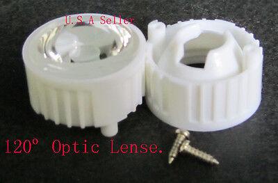 120 Optic Wide Led Lens-- 6 Pcs