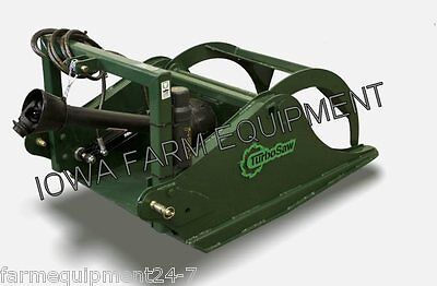 Tr3200 Turbo Saw Tractor 3ptpto Powered Tree Saw Grapple32 Blade 28-120hp