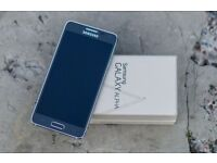 SAMSUNG GALAXY ALPHA 32GB UNLOCKED ANY NETWORK ***MINT CONDITION IN BOX***