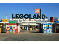 5 legoland tickets (any day)