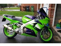 Kawasaki ZX 6R.....mint condition....tested till november...first to see will buy