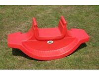 Little Tykes SeeSaw - Red - Toddlers etc.