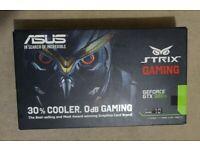 Nvidia GTX 980 Ti 6Gb Graphics Card GPU boxed Asus Strix model