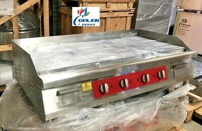 New 48 Electric Griddle Flat Grill Stove Countertop Nsf Etl 208240v Commercial