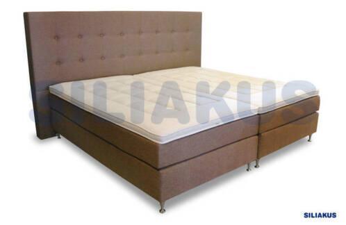 ≥ grote bedden kingsize boxspring bed incl matrassen