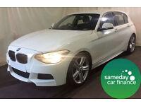 £250.72 PER MONTH WHITE 2012 BMW 116D 2.0 M SPORT STEP 5 DOOR AUTO DIESEL