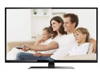 NEW CONDITION 50 INCH LED FULL HD WITH BUILT IN HD FREEVIEW AND BOX **CAN BE DELIVERED**