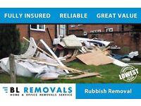 Rubbish / Waste removals - Preston, Bamber Bridge, Leyland, Clayton Green, chorley