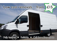 Man and van - From £15 - call for a quote. Preston,leyland Chorley,blackburn.