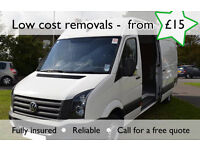 Van Removals ** from £15 ** Salford, cheetham hill,broughton,eccles.