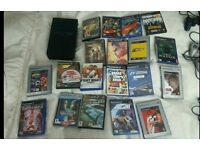 PlayStation 2 with 19 games!!