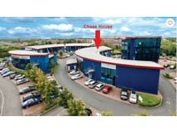 High quality, modern office space: 1,800sq.ft & 2,800sq.ft approx. Cannock WS122DD. Close to M6 Toll