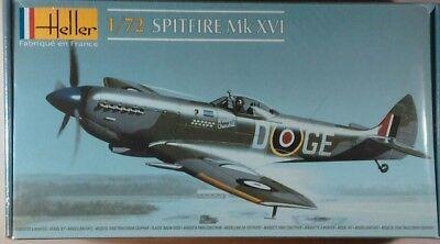 Heller 1.72 SPITFIRE Mk XVI RAF Model Kit Sealed