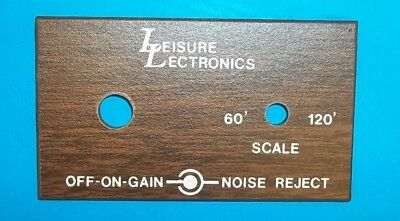 BOAT FACEPLATE LEISURE ELECTRONICS WOOD PANEL