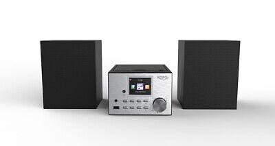 Kompaktanlage Internetradio  WLAN DAB+ CD-Player Bluetooth MP3 UKW WEB Radio Neu