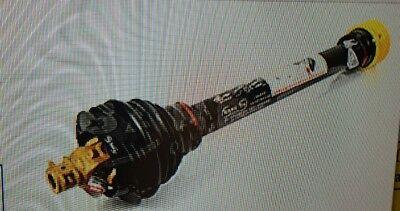 Flex Wing Rotary Cutter Pto Shaft 1-38 X21 1-34 X 20 Spline