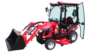 Worlds #1 Selling - Mahindra Tractor with Snow Blade