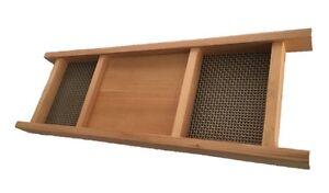 Reclaimed Handcrafted Cedar Bath Tray