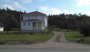 Lovely 2 story home with waterfront view for sale in Glovertown