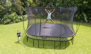 Spring-Free Trampoline 11 X 11 Moving Sale