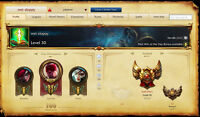 Gold 3 League of Legends Account, lots of skins, 8 rune pages