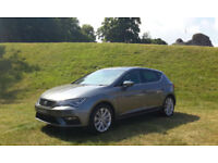 2017 '67' SEAT LEON 2.0TDi 184 DIESEL XCELLECE TECHNOLOGY. ONLY 3,700 MILES.
