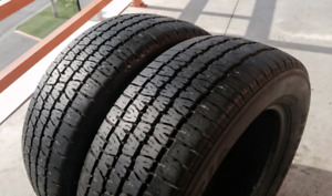 Set of two 205/60/15 BF Goodrich Radial T/A all season tires.