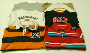 (26) T-shirts and polos for boys