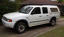 1999 Ford Courier 4 X 4 Turbo Diesel Dual Cab Ute Redcliffe Redcliffe Area Preview