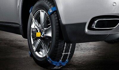 E61 mit der Reifengr/ö/ße 225//50 R17 MIT SELBSTSPANNMECHANISMUS Uni und T/ÜV mit /Ö-Norm BB-EP Schneekette f/ür BMW Serie 5 Touring