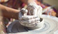 Get Muddy take a pottery class!