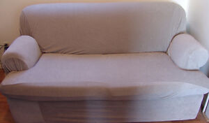 Sofa Bed -with cover  good Condition from  smoke-free home. Oakville / Halton Region Toronto (GTA) image 9