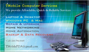 Excellent computer services, Affordable price.   Laptop or Deskt Cambridge Kitchener Area image 1