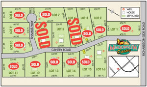 Ottawa Home Building Lots, excellent price!