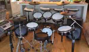Drum batterie td9 kvs roland haut de gamme avec 5 mesh tout inc