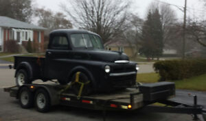 Flat bed Car Hauling Specializing in Classic Cars
