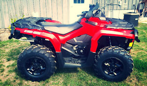 2014 CAN AM OUTLANDER 1000XT low km